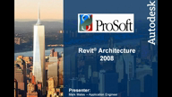 Revit Architecture 2008 Overview