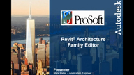 Revit Architecture Family Editor