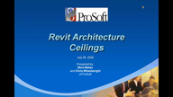Revit Architecture Ceilings