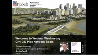 Pipe Network Tools in Civil 3D