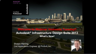 Whats new – 2013 Infrastructure Design Suite